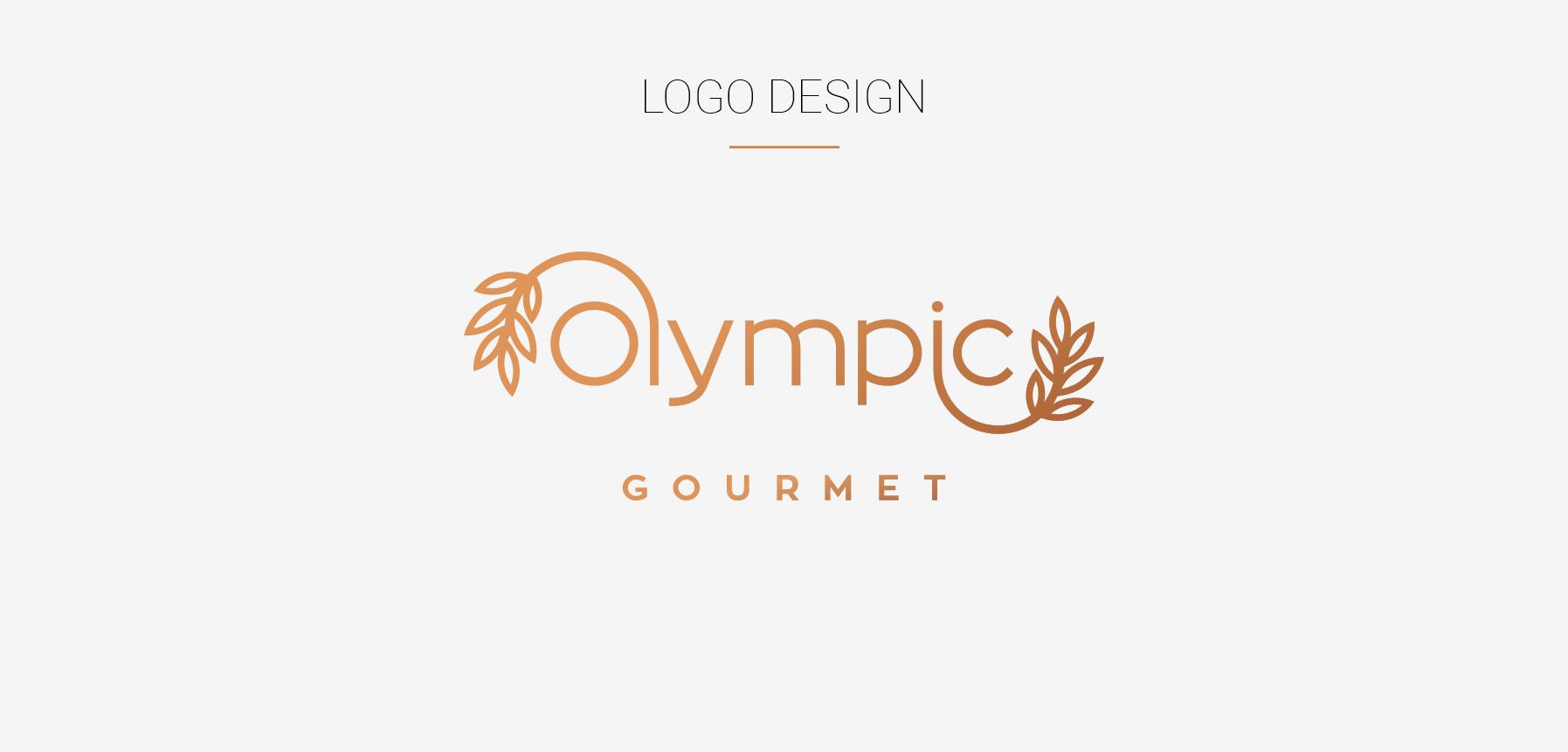 Logo Design | Olympic Gourmet