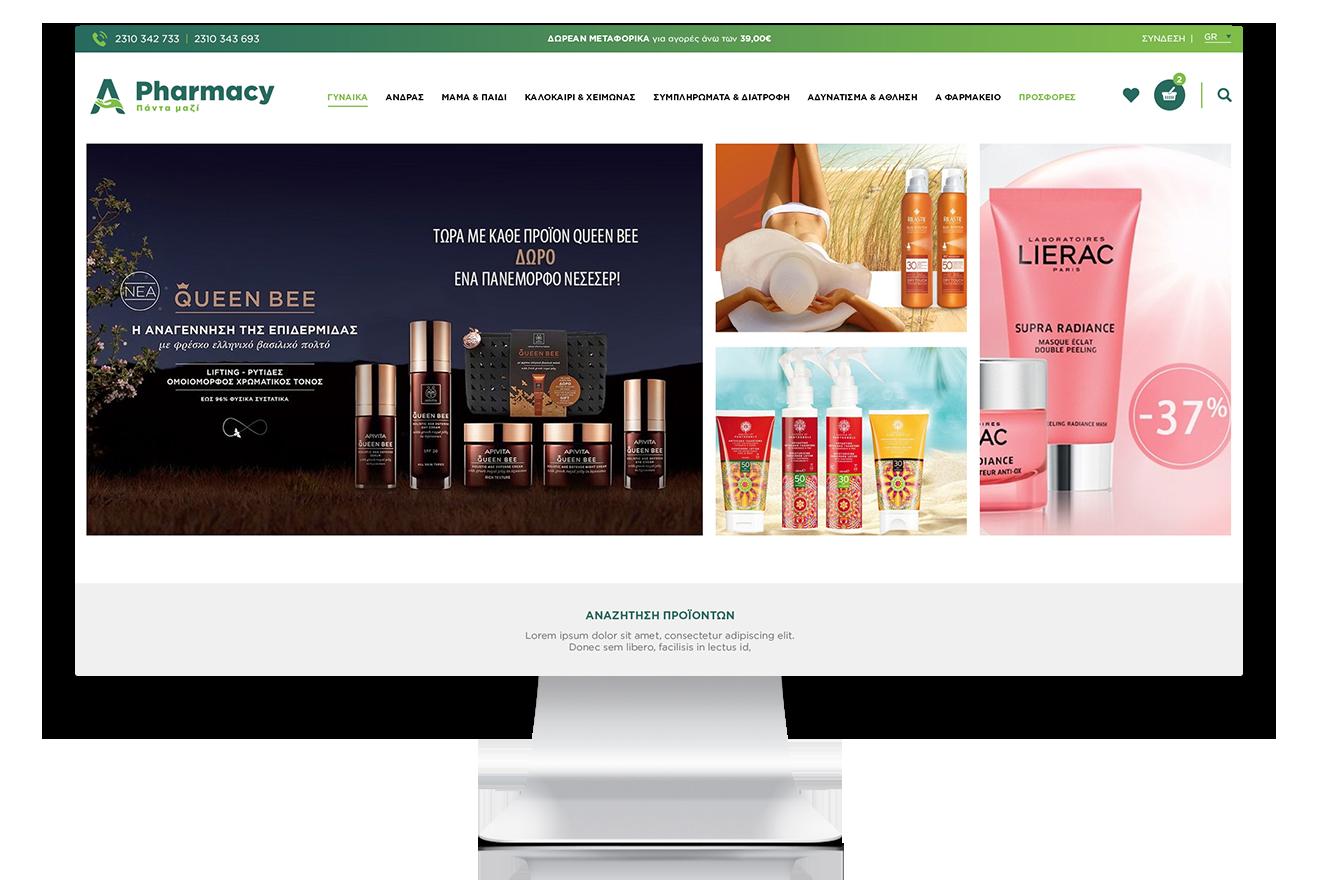 Magento eShop for A-pharmacy