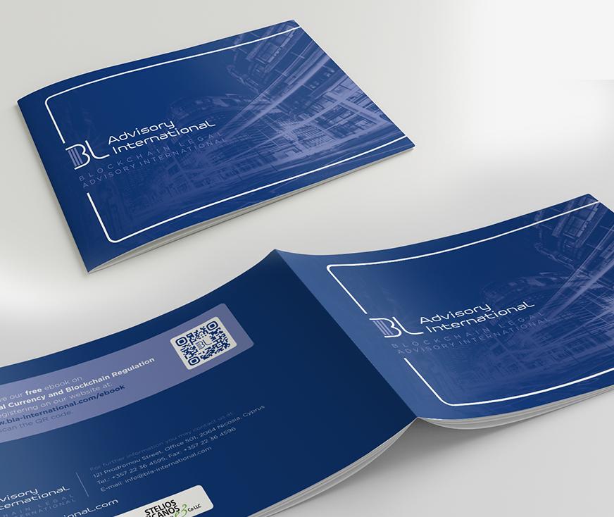 Blockchain BL Advisory Brochure Design