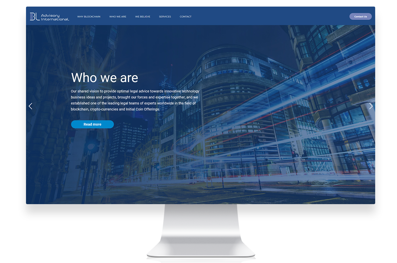 Blockchain Wordpress Website - Homepage2