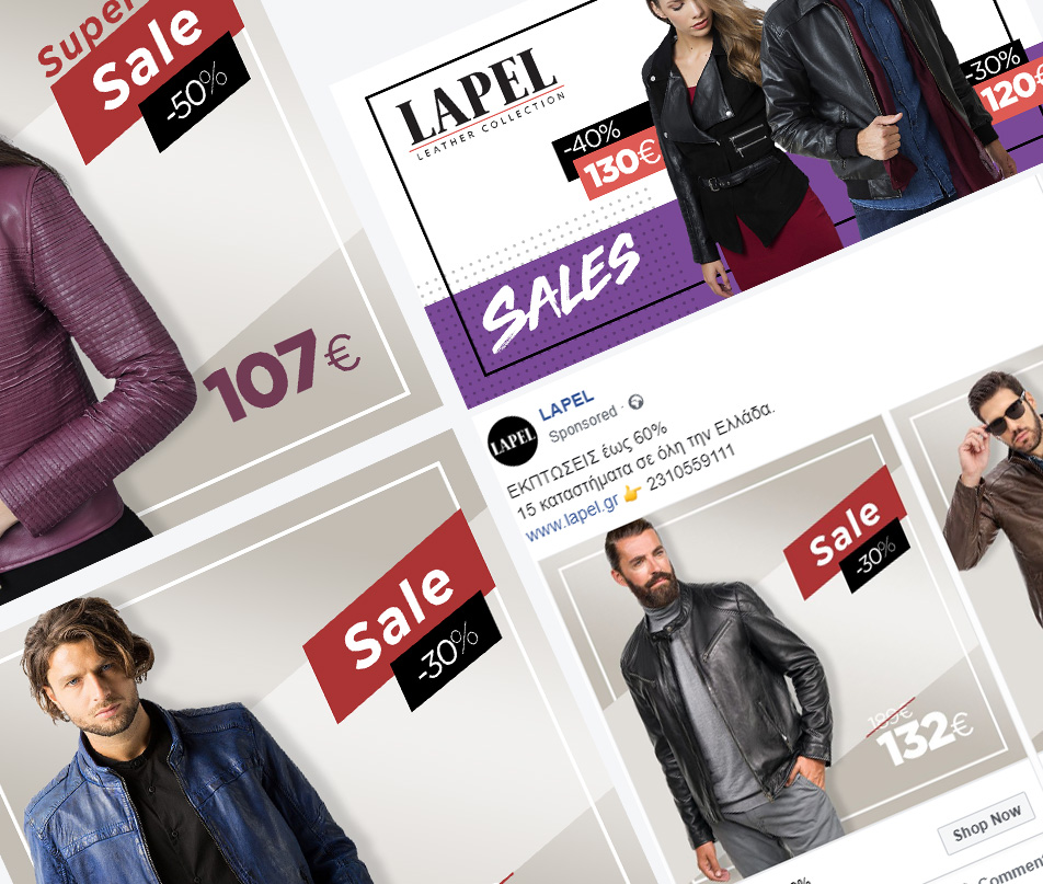 Social Media Advertising for LAPEL leather